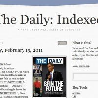 Сайт The Daily: Indexed