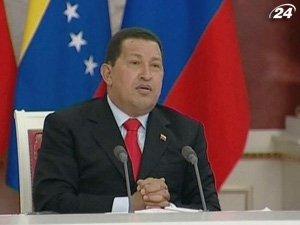 Уго Чавес посетит Украину