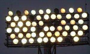 Огни стадиона ФК «Ворскла»