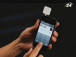 Square позволяет принимать платежи на мобильном телефоне