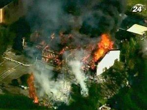 Правоохранители сожгли гигантский склад с самодельной взрывчаткой