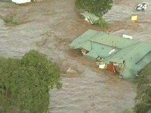 Разрушительные наводнения в Австралии