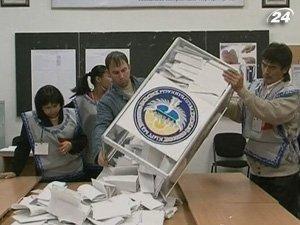 Подсчет голосов в Кыргызстане