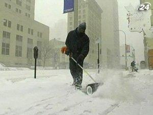 Треть территории США страдает от снегопадов
