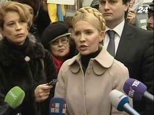 Юлия Тимошенко как на работу ходит в Генеральную прокуратуру