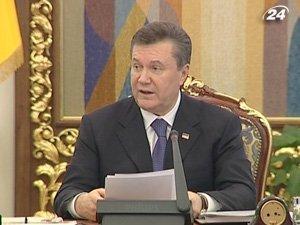 Янукович хочет выставить сельхозземли на продажу в 2012 году