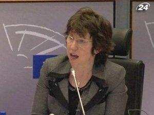 Глава МИД Евросоюза Кэтрин Эштон
