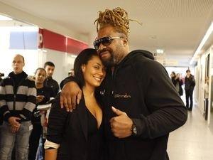 Бриггс и его жена