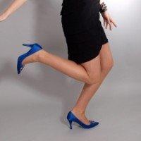 Женские туфли на высоком каблуке