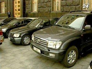 Уже закупила 40 легковых автомобилей на 9 миллионов гривен