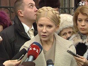Тимошенко не теряет надежды поехать в Брюссель