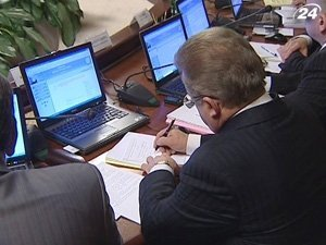 Чиновникам сделали рабочие подарки в виде ноутбуков