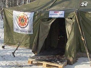 В Киеве открыли пункты обогрева для бездомных