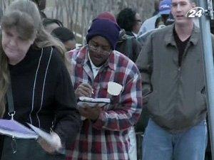 Уровень безработицы в США растет