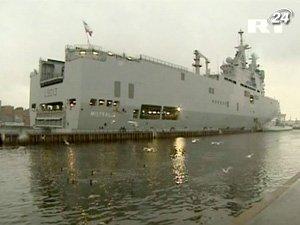 Франция передаст России военную технологию кораблей