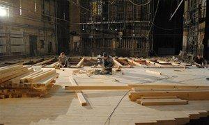 Реконструкция театра им. Н. Гоголя в Полтаве
