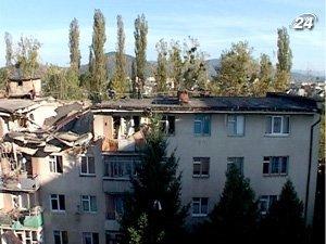 Взрыв в пятиэтажке разрушил верхний этаж дома