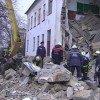Завалилась стена школы