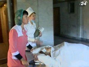 Пострадавших перевезли в больницу Днепропетровска