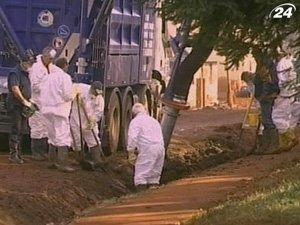 Продолжается ликвидация последствий взрыва на глиноземном заводе