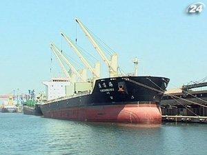 Зерно, которое находится в портах, экспортируют