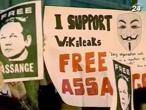 Первые акции в поддержку Ассанжа в Испании