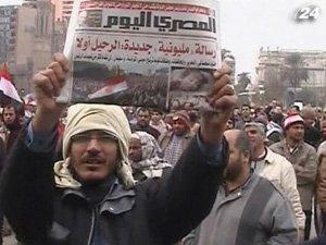Египтяне продолжают акции протеста
