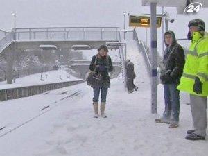 Европа замерзает
