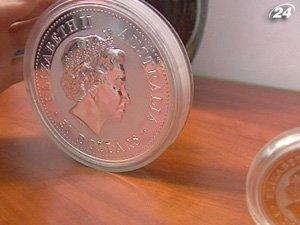 Продажа золотых монет в Великобритании вырос вчетверо