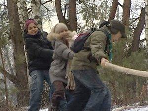 Столичные скауты устроили игровые проводы зимы