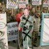 В Сеуле и нескольких других крупных городах состоялись демонстрации, направленные против политики КНДР