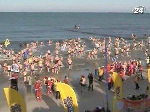 Впервые парад моржей провели в 2004 году