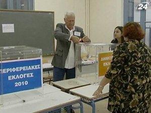В Греции стартовал первый тур региональных и муниципальных выборов