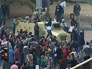 В Египте проходят массовые протесты, несмотря на введение комендантского часа