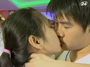 Марафон на самый длинный поцелуй