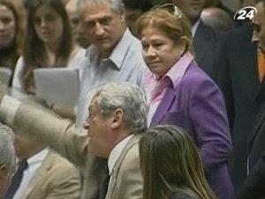 В парламенте Аргентины депутат ударил своего оппонента