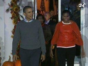 Хеллоуин в Белом доме