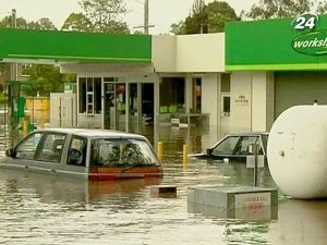 Высокая вода затопила 20 тысяч домов в центре Брисбена