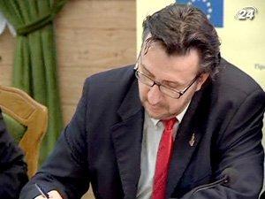 Глава отдела экономического сотрудничества Представительства ЕС в Украине Хосе Роман Леон Лора