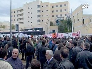 Неделя протестов в Греции