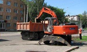 Реконструкция улицы Калинина в Полтаве