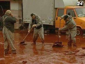 Токсичные отходы с венгерской глиноземного завода попали в Дунай