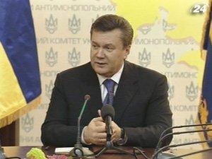Президент Виктор Янукович