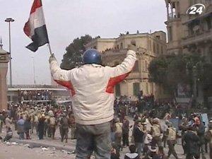 Беспорядки в Египте продолжаются с 25 января