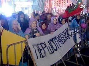 Митингующие останутся на Майдане пока Президент не наложит вето на Налоговый кодекс