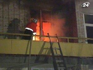 Пожар удалось укротить за три часа