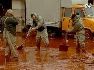 Ликвидация последствий экологической катастрофы в Венгрии