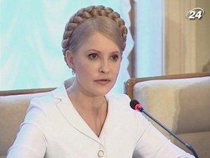Тимошенко рассказала о сворачивании демократии в Украине