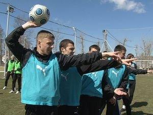 Так Оболонь тренируется в Новопавловке