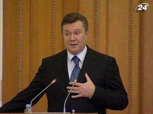 Виктор Янукович просит не гневить Бога